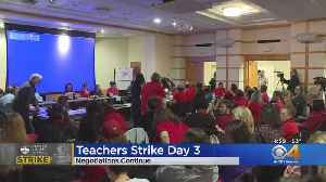 Teacher Strike Negotiations Sees Progress On Day 3 [Video]