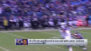 Are the Baltimore Ravens positioned for success with quarterback Lamar Jackson as franchise QB? [Video]