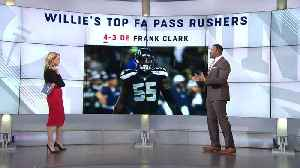 News video: NFL Network's Willie McGinest evaluates the top potential free-agent pass rushers
