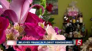 Flower shop owner remembered this Valentine's Day [Video]