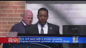 D.A. Will Meet With Woman Accusing Virginia Lt. Gov. Of Sex Abuse [Video]