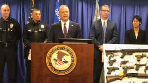 Dozens of suspected gang members, associates charged with federal racketeering, gun and drug violations [Video]