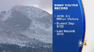 Rocky Mountain National Park: Most Visitors Ever In 2018 [Video]