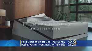 Ford Designs Bed That Keeps Mattress Hogs On Their Side [Video]