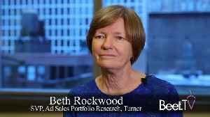 Turner's Rockwood: Better Cross-Screen Measurement Means Easier Transactions [Video]