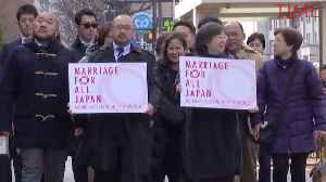 Gay Couples in Japan Filed Valentine's Day Lawsuits Demanding Marriage Equality [Video]