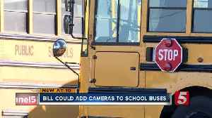 Bill would allow schools to add cameras to the outside of school buses [Video]