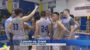 High School Basketball Division II Section Playoffs (2/13/19) [Video]