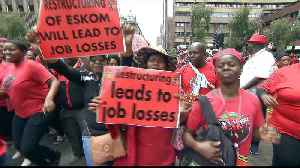 South Africans march against 'jobs bloodbath' [Video]