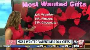 News video: Most wanted Valentine's Day gifts
