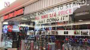 Store Owner Goes Out of Business After Refusing To Sell Nike Products Over Kaepernick Ad [Video]
