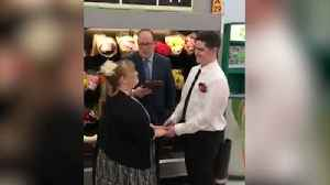 Walmart Use In Store Wedding To Advertise Job Opening [Video]