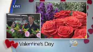 Valentine's Day: Local Florists Prepare For Busy Day [Video]