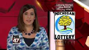 Lansing Woman Wins $250,000 KENO! Prize from the Michigan Lottery [Video]