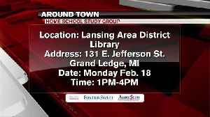 Around Town 2/14/19: Home School Study Group [Video]