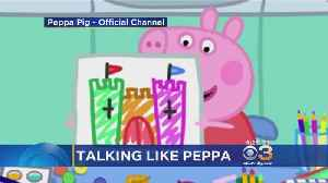 Parents Say Kids Are Starting To Speak In British Accent After Watching 'Peppa Pig' Cartoon [Video]