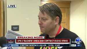 Talking with DCTA Lead Negotiator Rob Gould after tentative agreement reached [Video]