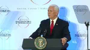 Pence calls on EU to withdraw from Iran nuclear deal [Video]