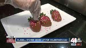 Russell Stover preps for busy Valentine's Day [Video]