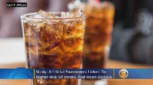 Diet Beverages Linked To Increased Stroke Risk & Heart Attacks [Video]