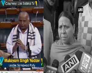 Unki umar ho gayi hai, says Rabri Devi on Mulayam Singh praising PM Modi [Video]