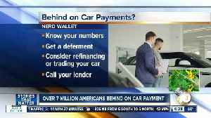 Report shows over 7M Americans behind on auto payments [Video]