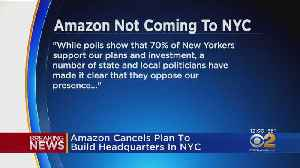 Amazon Pulls Out Of Building HQ In NYC [Video]