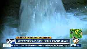 Strong winds and rain reach North County [Video]