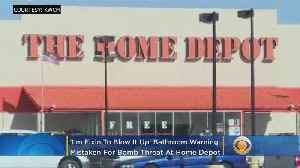 'I'm Fixin To Blow It Up': Bathroom Warning Mistaken For Bomb Threat At Home Depot [Video]
