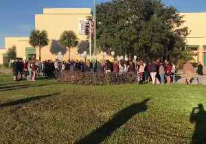 Durant High School Students Release Balloons in Memory of Parkland Victims [Video]