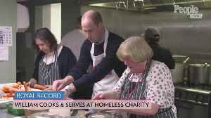 Prince William Announced as Patron of Homeless Charity He First Visited with Mom Princess Diana [Video]