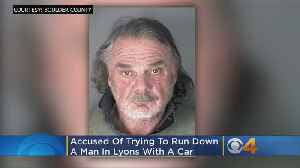 Man Allegedly Tried To Run Down Another Man With Car In Lyons [Video]