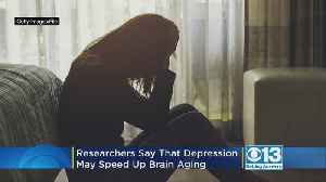 Researchers Find Clues That Depression May Speed Brain Aging [Video]