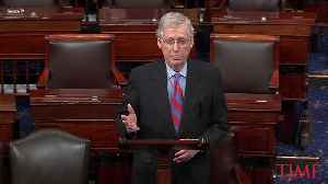 Mitch McConnell Says President Trump Will Sign Border Bill but Declare National Emergency [Video]
