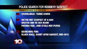 Police search for robbery suspect [Video]