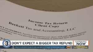 Here's why your refund may not be as high as you expect under the new tax law [Video]