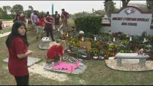 VIDEO FL community mourns victims at garden memorial [Video]