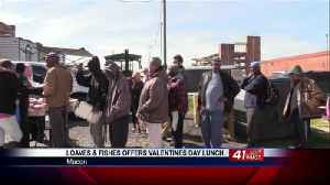 Loaves and Fishes Ministry holds first Valentine's Day cookout [Video]