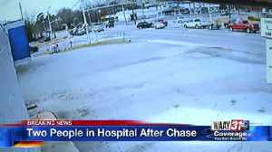 Two Hospitalized After Police Chase [Video]