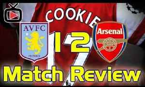 Arsenal 2 Aston Villa 1 - Match Review - ArsenalFanTV.com [Video]