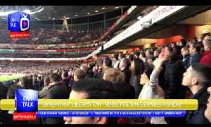 Arsenal Fans Giving It To The Spurs Fans (Terrace Cam) - Arsenal 2 Spurs 0 [Video]