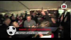Arsenal fans singing at Villa Park - We won the league at shite hart lane [Video]