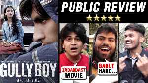 Gully Boy DHAMAKEDAAR Public REACTION | ⭐⭐⭐⭐ Ranveer Singh, Alia Bhatt, Zoya Akhtar [Video]