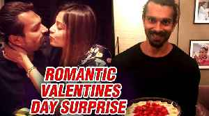News video: Bipasha Basu And Karan Singh Grover Kiss PUBLICLY On Valentines Day
