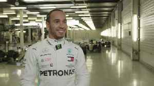 Mercedes-AMG Petronas motorsport's tenth modern-day F1 car hits the track in Silverstone - Lewis Hamilton [Video]