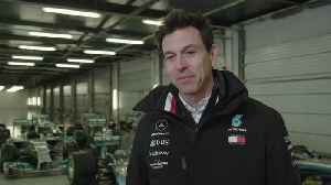 Mercedes-AMG Petronas motorsport's tenth modern-day F1 car hits the track in Silverstone - Toto Wolff [Video]