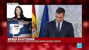Spain elections: PM calls for snap election after budget defeat [Video]