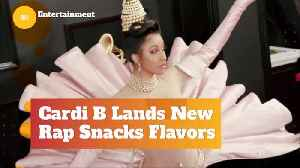 Now You Can Literally Snack On Cardi B [Video]