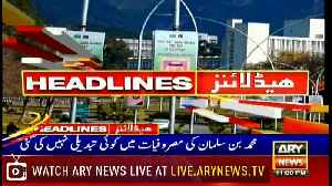 Headlines | ARYNews | 2300 | 15 February 2019 [Video]