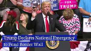 Trump Declares National Emergency to Fund Border Wall [Video]